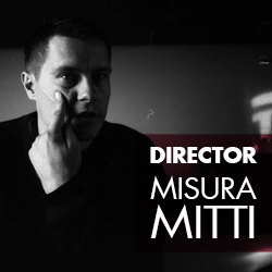 The author of idea, the director, the operator, installation - Mitti Misura